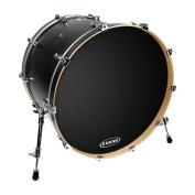 Evans EQ1 Resonant Black Bass Drum Head, 50cm