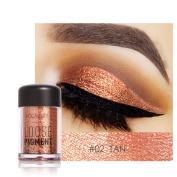 Glitter Eyeshadow Makeup Palette - 12 Colour Loose Pigment Waterproof Shimmer Glitter Powder Makeup Diamond Eyeshadow Highlighter