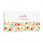 Alloya Natural Non-Toxic, Five-free, Vegan formula Nail Polish, Peel Off & floral scented, Childlike Innocence
