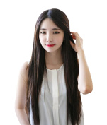 SuperWigy® Fashion Cute Girls' 70cm Long Straight Heat Friendly Hair No Bangs Party Wig