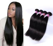 Magic Show 7A Peruvian Virgin Hair Straight 4pcs/lot 36cm 41cm 46cm 50cm Peruvian Straight Hair 100% Unprocessed Human Hair Weave Peruvian Hair Weave Bundle