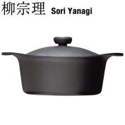 Southern part of Munemichi Yanagi SORI YANAGI ironware iron pan deep model 22cm (with an iron cover, the steering wheel) JAN