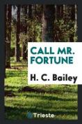 Call Mr. Fortune