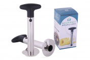Professional Stainless-Steel Pineapple Peeler and Slicer by EZ-Gourmet