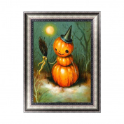 Misright Artistic DIY Halloween Pumpkin 5D Diamond Painting Cross Stitch Embroidery Home Wall Decor