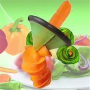 Iumer Stainless Steel Vegetable Slicer Kitchen Fruits Vegetable Carrot Cucumber Fancy Slicer Carving Knife Peeler Household Tools & Gadgets