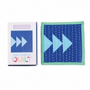 No 3~ Blue Matchbox Quilt Kit by Moda Fabrics