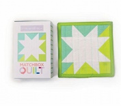 No 1~ Aqua Matchbox Quilt Kit by Moda Fabrics