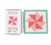No 4~ Coral Matchbox Quilt Kit by Moda Fabrics