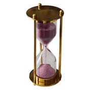 Brass Sand Timer Of 1 Minute Time For Children