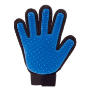 Pet Grooming & Shedding Glove - Right Hand | Hygienic & Breathable Cleaning Brush | Soothing on Pet Skin | Free Size