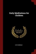 Daily Meditations for Children