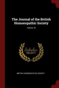 The Journal of the British Homoeopathic Society; Volume 16