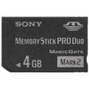 SONY Memory Stick Pro Duo Mark2 4 GB MS-MT4G