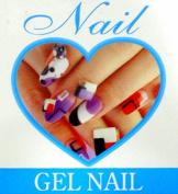 Full Colour Nail Art Design Book 1000 Demonstrations for Fingernail & Toenail, Gel Nail