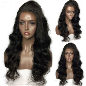 Lace Front Wigs Loose Wave Human Hair Glueless Natural Colour 130% Density 41cm