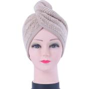 Kennedy Lady Bath Hat Microfiber Fast Absorbent Dry Hair Cap Hair Towel Hair Wrap