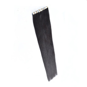 Full Head long straight hair Clips in on Synthetic Hair Extensions Hair pieces for Women Black Colour