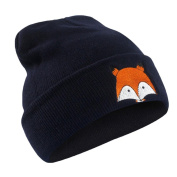 Lanhui_Lovely Embroidery Pattern Hat Unisex Warm Hat Knitted Cap Hats Warm Cap Soft Cap