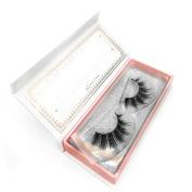 KASINA Mink Fur Fake Eyelashes 'Sistar' 100% Original Mink Fur Hand-made False Lashes