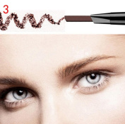 Highpot Waterproof Automatic Womens Eyebrow Pencil With Brush Makeup Cosmetic Tool