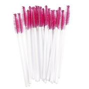50Pcs Disposable Eyelash Brush Mascara Wand Applicator Spooler Makeup Tool