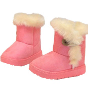 Fashion Girls Winter Snow Boots, Leedford Child Snow Fake Fur Boots Warm Shoes