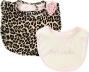 Kate Spade New York Kids Baby Girl's Ooh La La Bib Set (Infant) Assorted One Size