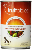Fruitables Pumpkin Dog Digestive Supplement, with vitamin, fibre and ginger fortified, 440ml Can