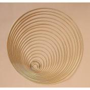 Metal Ring Gold 23cm Dia