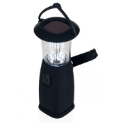 6 LED Camping Lantern - Solar and Dynamo Powered by Whetstone