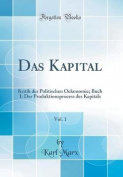Das Kapital, Vol. 1 [GER]