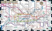Streetwise London Underground Map - Laminated Map of the London Underground, England