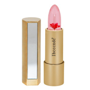 SEXYP 1PC Sexy Long Lasting Magic Jelly Flower Lipstick Colour Temperature Change Lip Balm Gloss