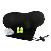 3D Sleep Mask for Sleeping Contoured Shape Ultra lightweight & Comfortable Eye Mask