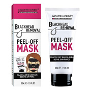 All Natural Activated Carbon Black Mask Mud, Blackhead Remover