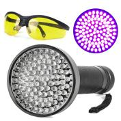 Escolite UV Flashlight Black Light, Ultraviolet Blacklight Detector for Dog Urine, Pet Stains and Bed Bug