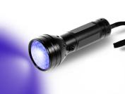 ELECLOVER 51 LEDs 395nm Light Pet UV Urine Stain Detector Blacklight Flashlight
