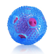 Interactive Dog Toys, Squeaky Balls Small Tricky Treat Ball For Puppy And Small Medium Large Dogs