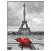 Diamond Painting, DIY 5D Diamond Painting Red Umbrella Embroidery Cross Stitch Wall Decor by TTnight
