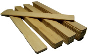 25 NSI 23cm Inch Wood Paint Sticks for Mixing, Paint, Resin, Epoxy or Craft Project Handles, Garden Markers, Book Marks