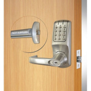 Codelocks ANSI Grade 2 Electronic Lockset Panic Kit, CL5000PK-BS, Brushed Steel