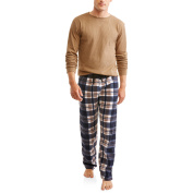 Men's Thermal Long sleeve Henly and Fleece pant Gift Set, up to size 3XL