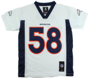 Von Miller Denver Broncos #58 NFL Youth Mid-Tier Jersey White