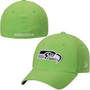 Seattle Seahawks New Era Team Classic 39THIRTY Flex Hat Neon Green