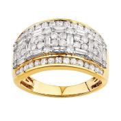 2 Carat of Diamonds 9ct Gold Diamond Fancy Ring