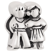 Ane Si Dora Sterling Silver Couple Charm