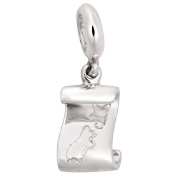 Ane Si Dora Sterling Silver NZ Scroll Charm