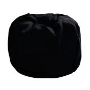 Living & Co Bean Bag Cover Black 200L
