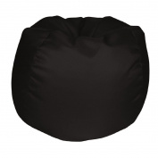 Living & Co Bean Bag Cover Black 150L